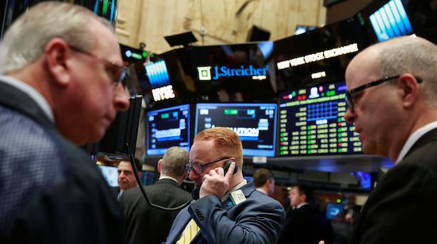 Sløjt nøgletal spreder nervøsitet på amerikansk aktiemarked
