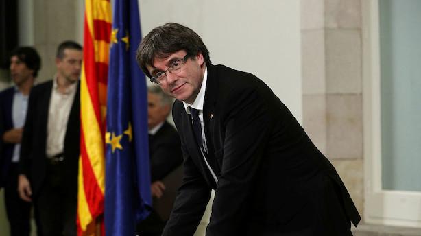 Analyse: Cataloniens leder er halvt gravid - krisen fortsætter