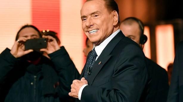 Berlusconi fører valgkamp mod populisme