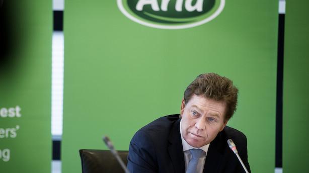 Stigende mælkepris sikrer rekordvækst i Arla