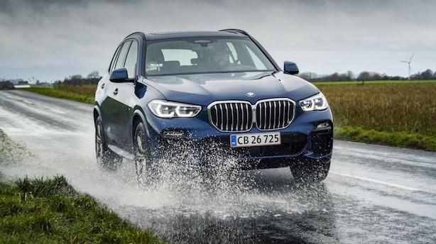 BMW X5 leverer en overlegen opvisning i moderne teknologi