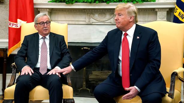 Vedtaget: Nu kan EU begynde handelsforhandlinger med Trump
