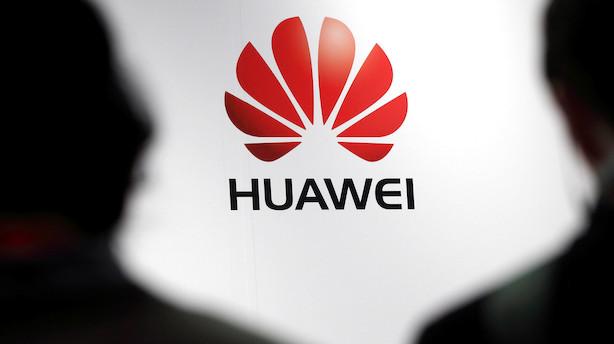 Aktieluk i USA: Mildere kurs over for Huawei løftede aktierne