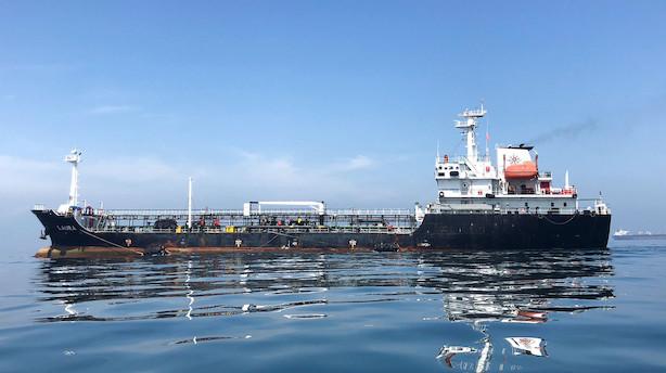 Iran stopper tankskib og anholder besætning