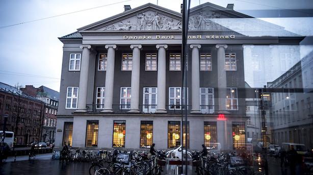 Aktiestatus: Danske Bank falder i grønt C25 - Lundbeck i hopla