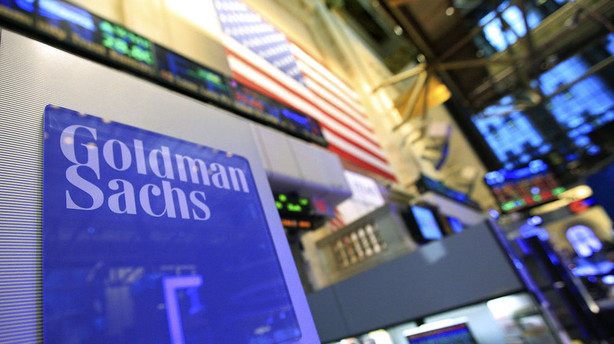 Goldman Sachs nedjusterer grundet milliardbøde