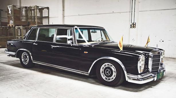 Gør et kup i Aarhus: Simon Spies limousine under hammeren