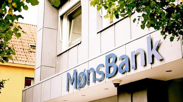 Møns Bank leverer fremgang på top- og bundlinje