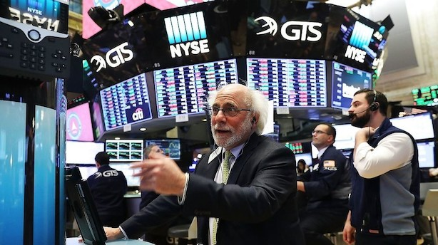 Aktier: Wall Street lukker ugen med en fest trods rentespøgelse