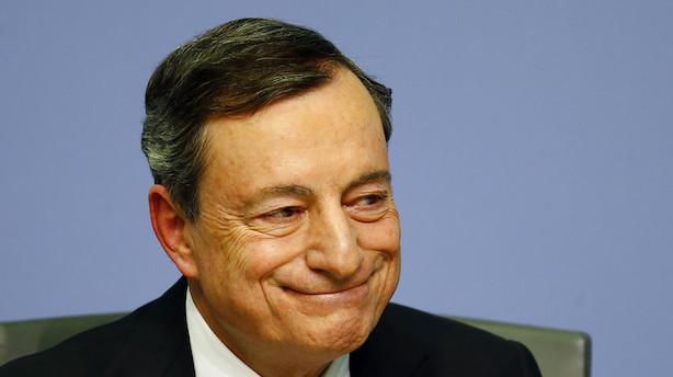Økonomer: Trods ændret ECB-melding fortsat lange udsigter til rentehop