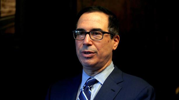 Medie: USA overvejer at rulle Kina-told tilbage - Finansministerium afviser det