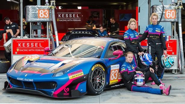 """Michelle Gatting er rookie i Le Mans: """"En forholdsvis aggressiv kørestil er nødvendig. Det passer mig godt"""""""