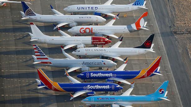 Boeing leverede kun 380 fly i 2019