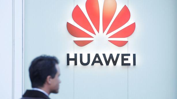 """Europæisk Huawei-boss efter massiv politisk modvind: """"Der er stadig god forretning at gøre i Danmark"""""""