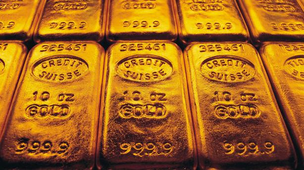 Usikker verden giver guldsælger kunder i butikken