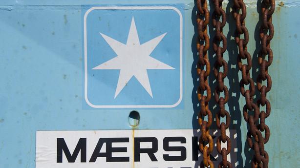 Aktier: Neutral lukning med Mærsk helt i front