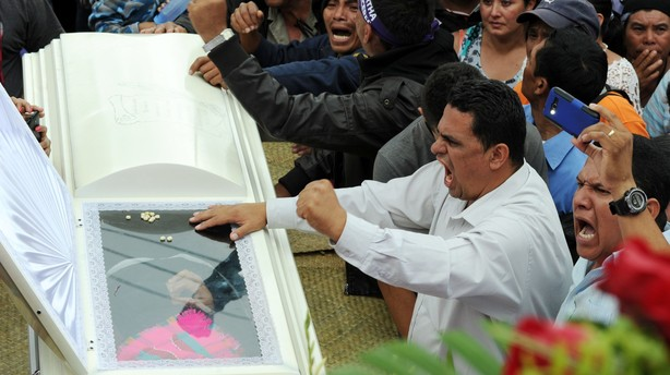 Uro i Honduras efter skuddrab på miljøaktivist