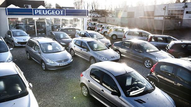 Bilbranchen kører videre med rekordsalg af personbiler i maj