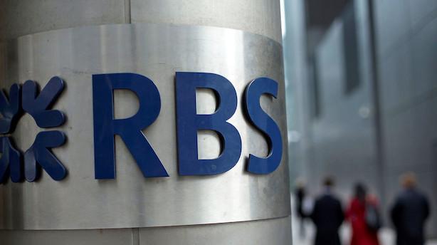 Royal Bank of Scotland overrasker positivt med indtjeningen