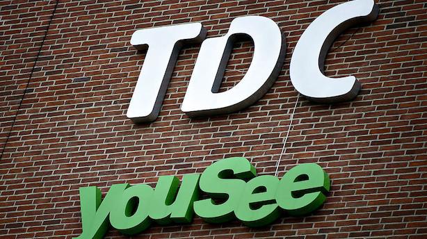 TDC-aktien i stort kurshop