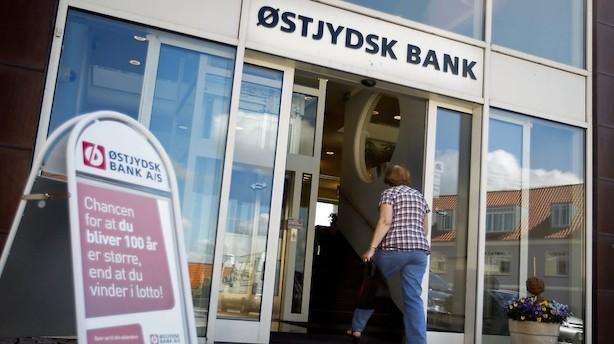 Østjydsk Bank skal nedskrive med ekstra 132 mio kr - kan ikke overholde kapitalkrav