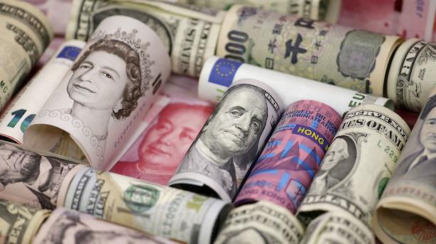 Valuta: Dollar og yen svækkes på håb om løsning på handelskrig