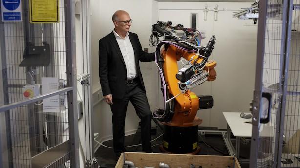 Robotfirma vil hente 35 mio på omdiskuteret minibørs