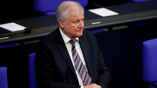 Tysk indenrigsminister kvitter partitop - bliver som minister