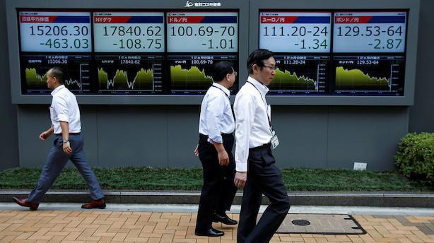 Aktier: USA's teknologisektor trækker Asien med op