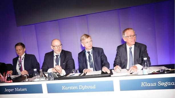 Nedstemt med over 96 pct. af stemmerne: Der kommer ikke en ny undersøgelse i Danske Bank