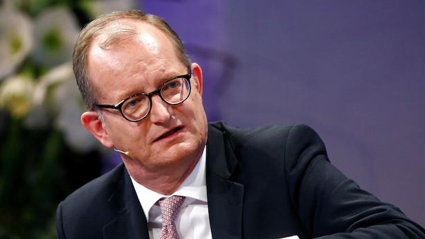 Commerzbank-topchef lover ansatte hurtig afklaring om fusion