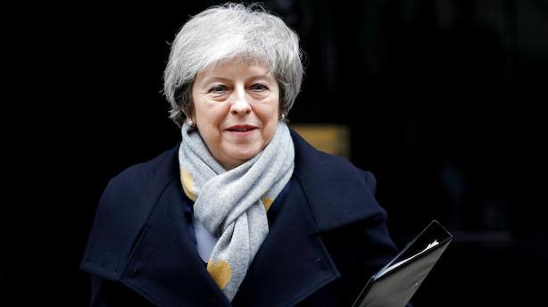 Er det slut fredag? Theresa May har kun få dage tilbage som premierminister