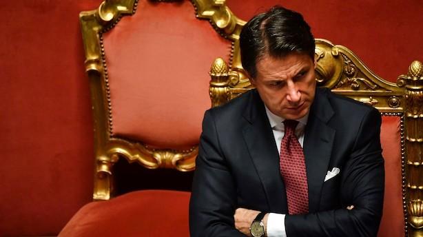 Aktieluk i Europa: Italiensk uro sendte nervøsitet ind over kontinentet