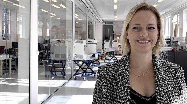 Danske laboratorierobotter skal ud over landets grænser