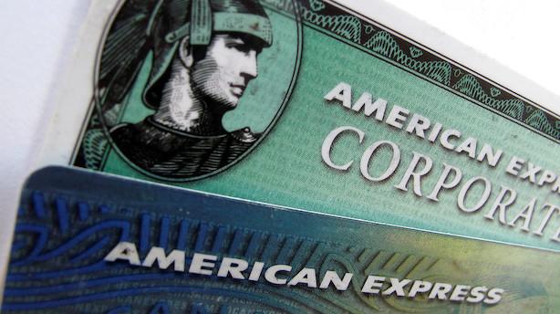 American Express slog forventningerne i første kvartal