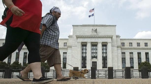 USA's centralbank slipper speederen endnu et nøk