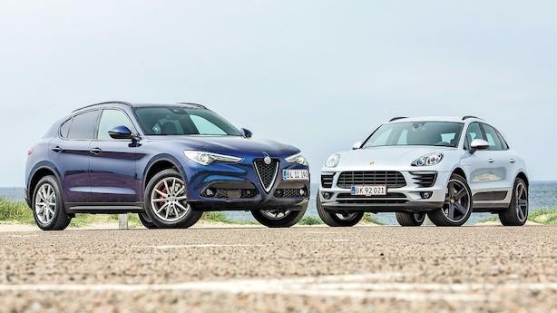 SUV-topmøde: Smuk italiener vs. effektiv Porsche