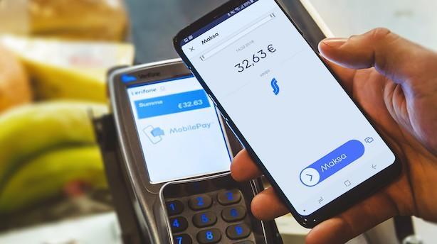 Mobilepay vil vinde Finland: Går i samarbejde med finsk butikskæmpe