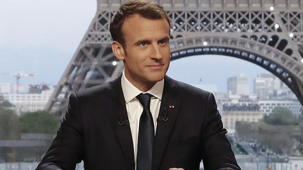 Macron: Jeg overtalte Trump til at blive i Syrien
