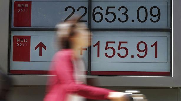 Aktier: Energiselskaber trækker op i Tokyo