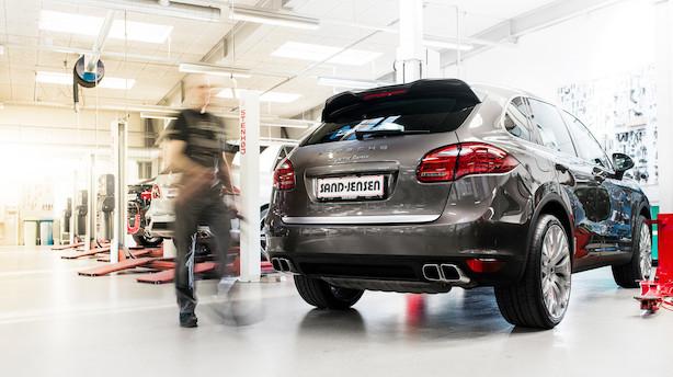 Nye tal: Store bilforhandlere øger indtjeningen