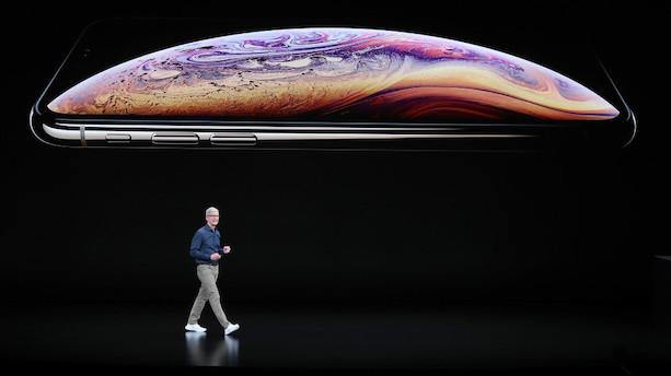 Apple præsenterer større - og dyrere - iPhones