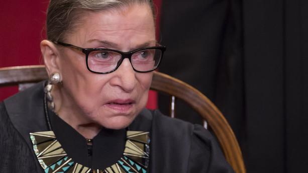 85-årig liberal højesteretsdommer i USA er på benene igen