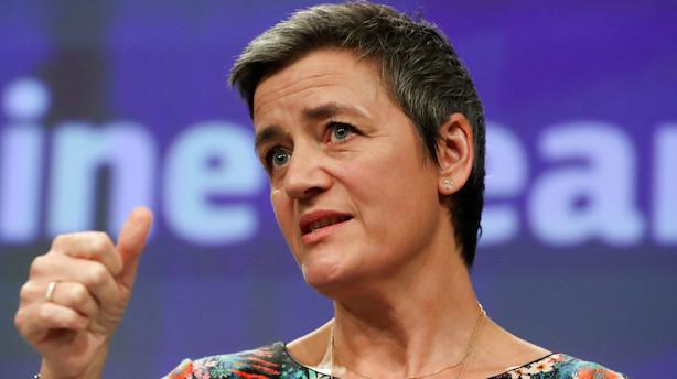 Analyse: Vestager har små chancer for at nuppe en toppost i EU - lægger pres på Løkke og Frederiksen