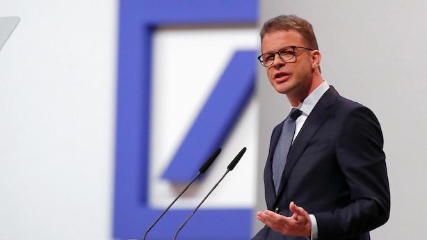 """Deutsche Bank-boss: """"Vi spredte os over for meget og det blev for tyndt"""""""