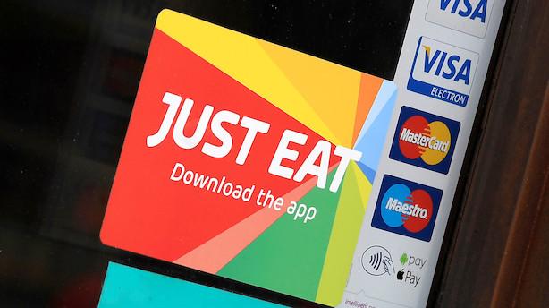 Investeringsfirma vil købe Just Eat: Byder stort milliardbeløb
