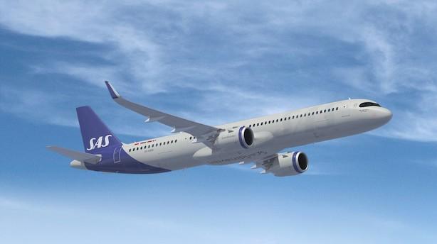 SAS snart klar med små fly til lange ruter