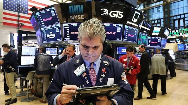 USA: Amerikanske aktier vender atter snuden nedad