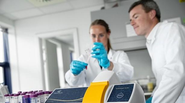 """Chemometec er vokset 56 pct på toppen: """"Forventer at kunne fortsætte ad vækstsporet"""""""