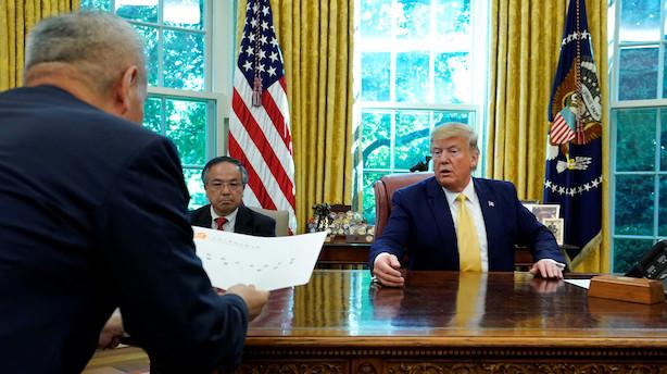 Nordea: Ingen game changer for markedet, men mini-aftalen mellem Kina og USA reducerer usikkerhedsniveauet på kort sigt